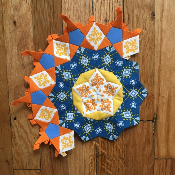 East Dakota Quilter - Passacaglia Rosette